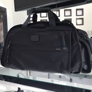 TUMI Black Travel Duffle Bag